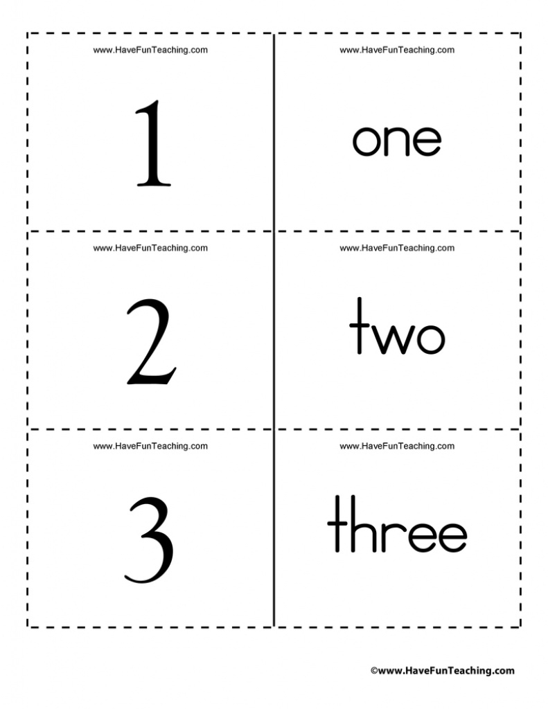 Numbers Word Flash Cards 0 To 100 Inside Free Printable Number - Free Printable Number Flashcards 1 30