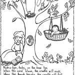 Nursery Rhymes Printables Coloring Pages. Nursery Rhyme Coloring   Free Printable Nursery Rhymes