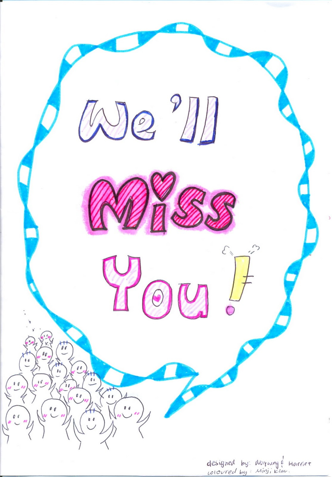 Office Farewell Clipart Collection - Free Printable Goodbye Cards