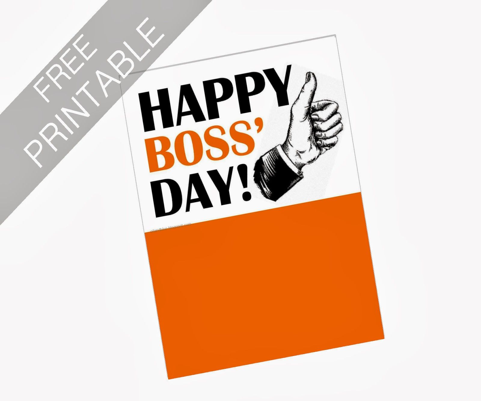 Oil And Blue: Free Printables - Happy Boss' Day Card   Party Ideas - Boss Day Cards Free Printable
