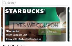 Free Starbucks Coupon Printable