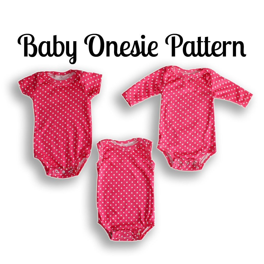 Onesie Sewing Pattern | Nb-36 Months | Projects To Try | Pinterest - Free Printable Onesie Pattern