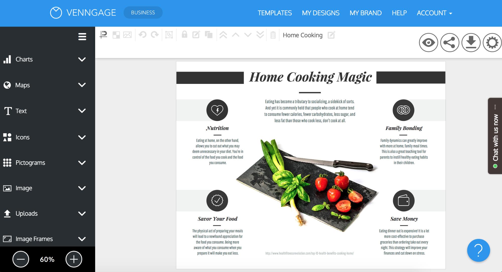 Online Brochure Maker - Make Your Own Brochure With Venngage - Free Printable Brochure Maker Download