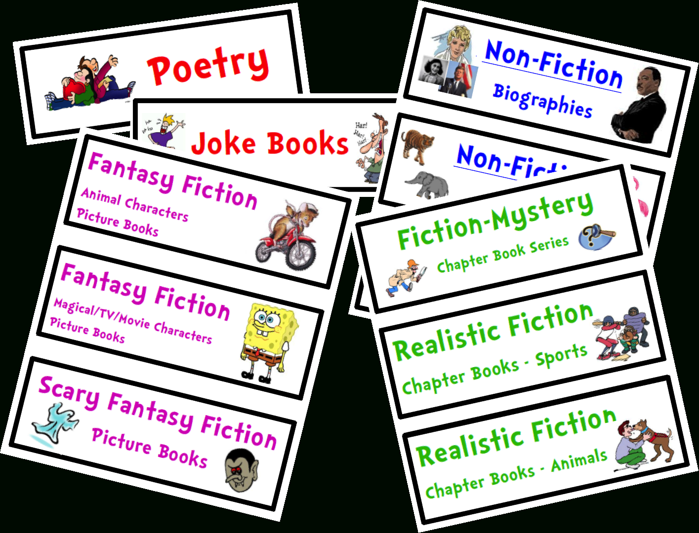 Organize Your Classroom Library {Free Genre Bin Labels} | - Free Printable Book Bin Labels