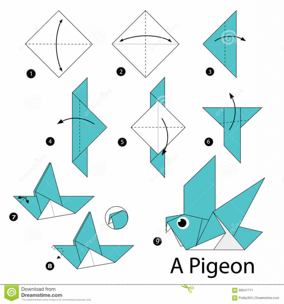 Origami: Best Origami Instructions Ideas On Origami Paper Origami - Printable Origami Instructions Free
