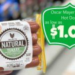 Oscar Mayer Natural Hot Dogs As Low As $1.00 Each At Kroger   Free Printable Oscar Mayer Coupons