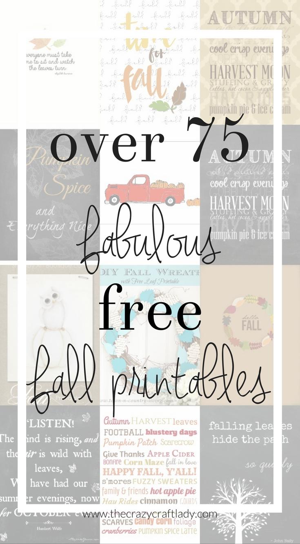 Over 75 Fabulous Free Fall Printables - Printable Art, Gift Tags - Free Printable Pumpkin Gift Tags