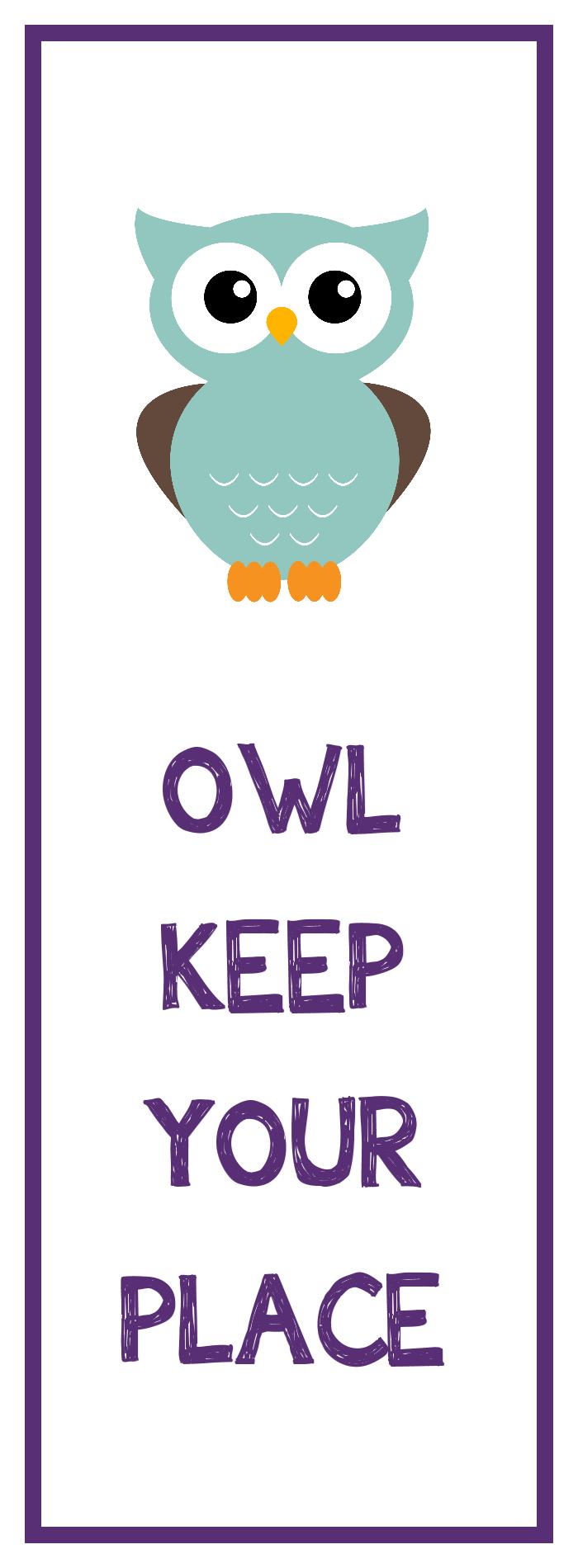 Owl Bookmark Printable   Library Stuff   Pinterest   Bookmarks Kids - Free Printable Owl Bookmarks