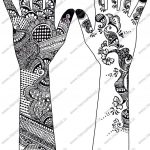 Pakistan Cricket Player Printable Henna Designs Indi On Lotus   Free Printable Henna Tattoo Designs