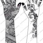 Pakistan Cricket Player Printable Henna Designs Indi On Lotus   Free Printable Henna Tattoo Designs