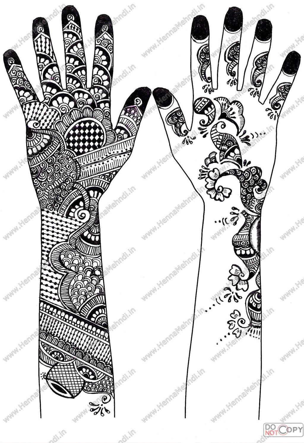 Pakistan Cricket Player Printable Henna Designs Indi On Lotus - Free Printable Henna Tattoo Designs