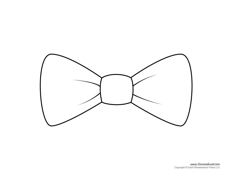 Paper Bow Tie Templates | Bow Tie Printables - Clip Art Library - Free Bow Tie Template Printable