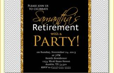 Party Invitations: Retirement Party Invitations Free Printable – Free Printable Retirement Party Flyers