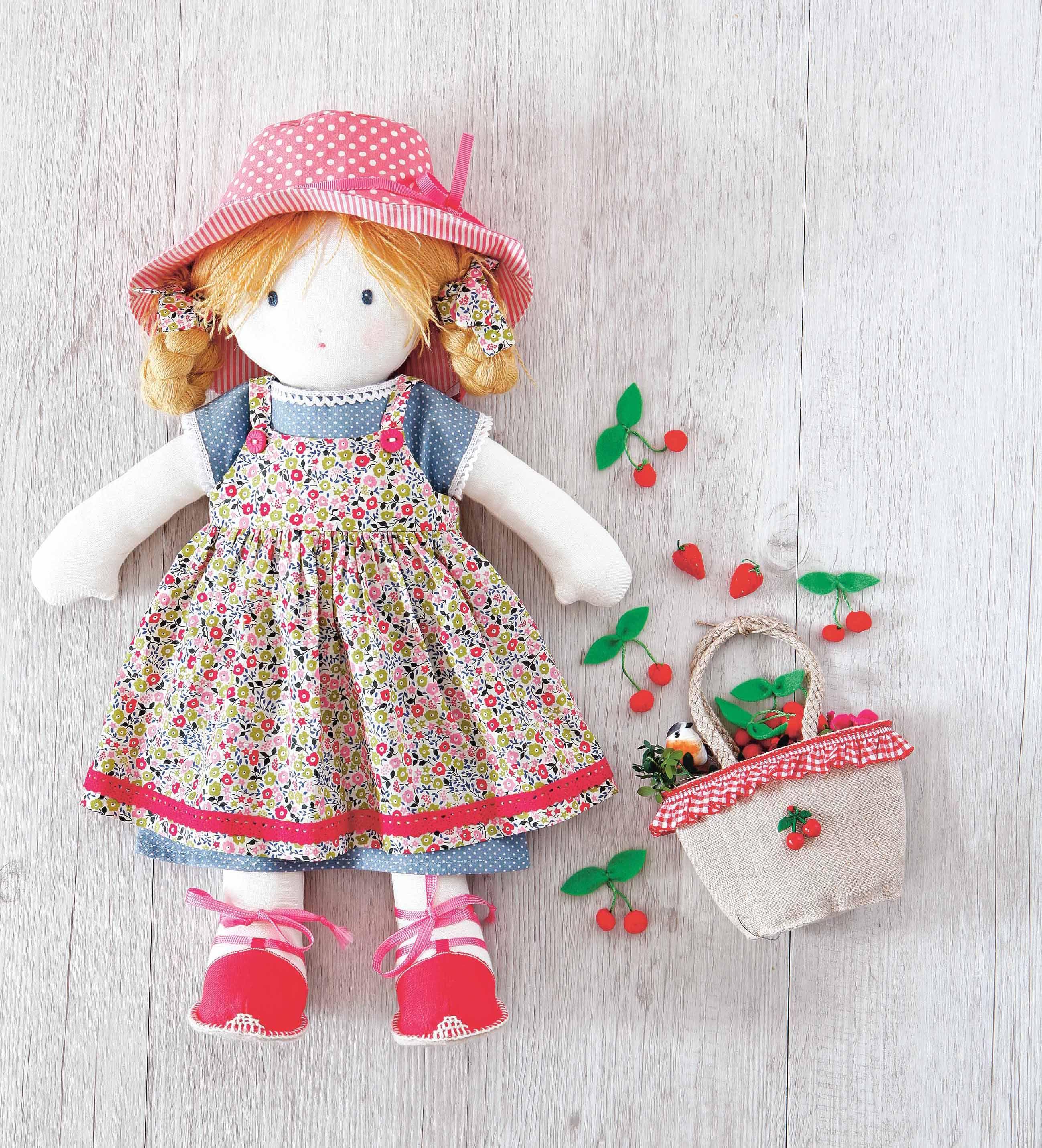 Pattern: Printable Rag Doll Sewing Pattern | Sewing | Pinterest - Free Printable Cloth Doll Sewing Patterns