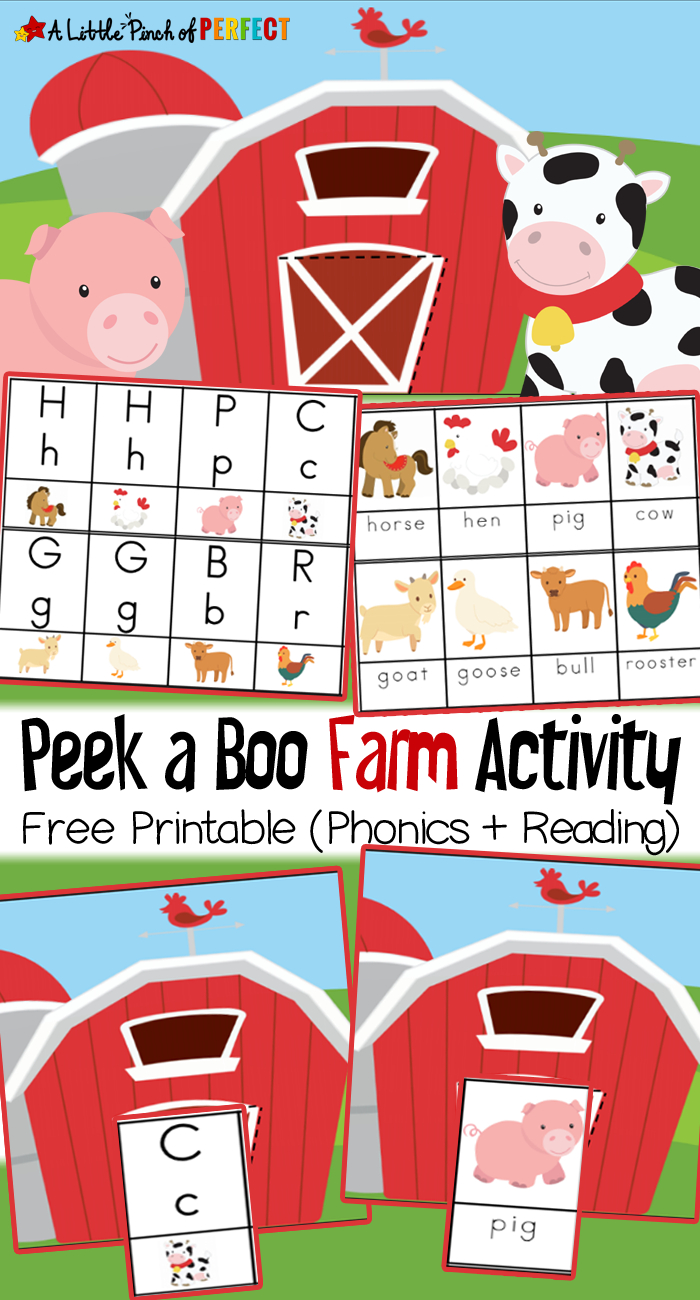 Free Printable Farm Animals