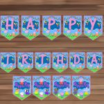 Peppa Pig Birthday Party Decoration, Peppamagianrainbow On Zibbet   Peppa Pig Birthday Banner Printable Free