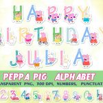 Peppa Pig Clipart Png Collection   Peppa Pig Birthday Banner Printable Free