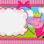 Peppa Pig Fairy: Free Printable Invitations. | Oh My Fiesta! In English   Peppa Pig Birthday Banner Printable Free