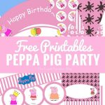 Peppa Pig Party Printables + Fun Party Ideas | Party Time   Peppa Pig Birthday Banner Printable Free