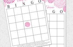 Photo : Baby Shower Baby Bingo Image – Free Printable Baby Shower Bingo