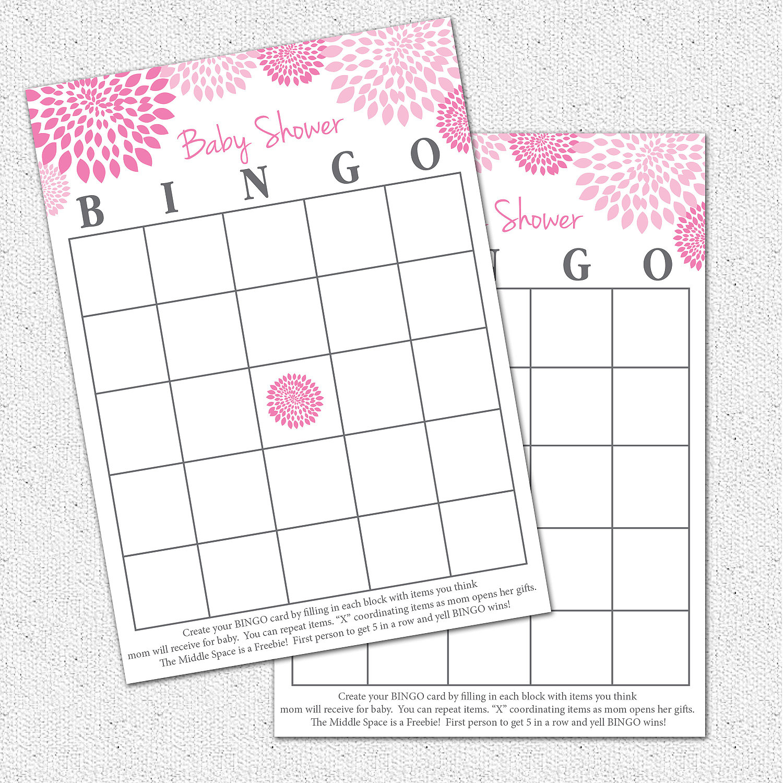 Photo : Baby Shower Baby Bingo Image - Free Printable Baby Shower Bingo