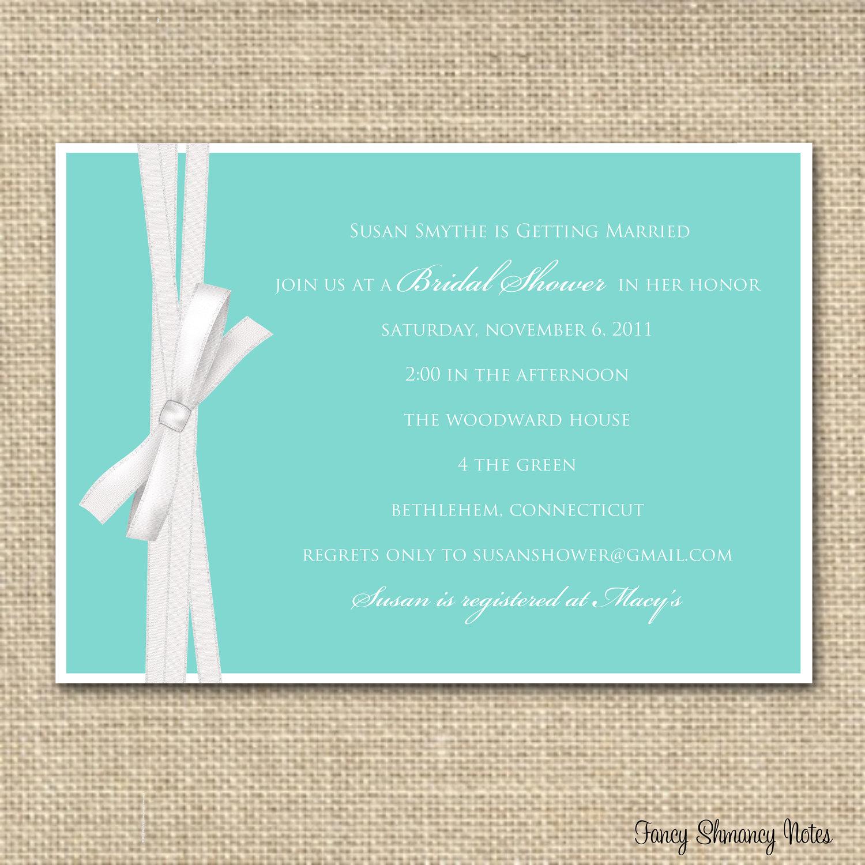 Photo : Bridal Shower Invitation Templates Image - Free Printable Beach Theme Bridal Shower Invitations