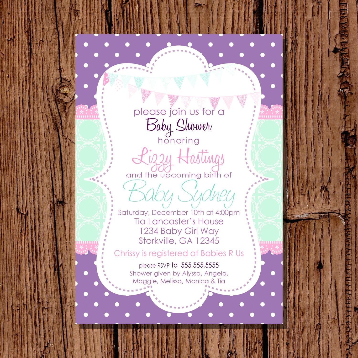 Photo : Owl Twins Baby Shower Image - Free Printable Camo Baby Shower Invitations