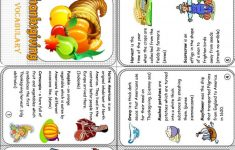 Picture Thanksgiving Dinner Worksheet 25 Minibook Free Esl Printable - Free Thanksgiving Mini Book Printable