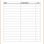 Pin On Dojo Marketing Ideas   Free Printable Sign In Sheet Template