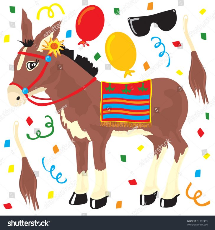 Pin The Tail On The Donkey Printable Free