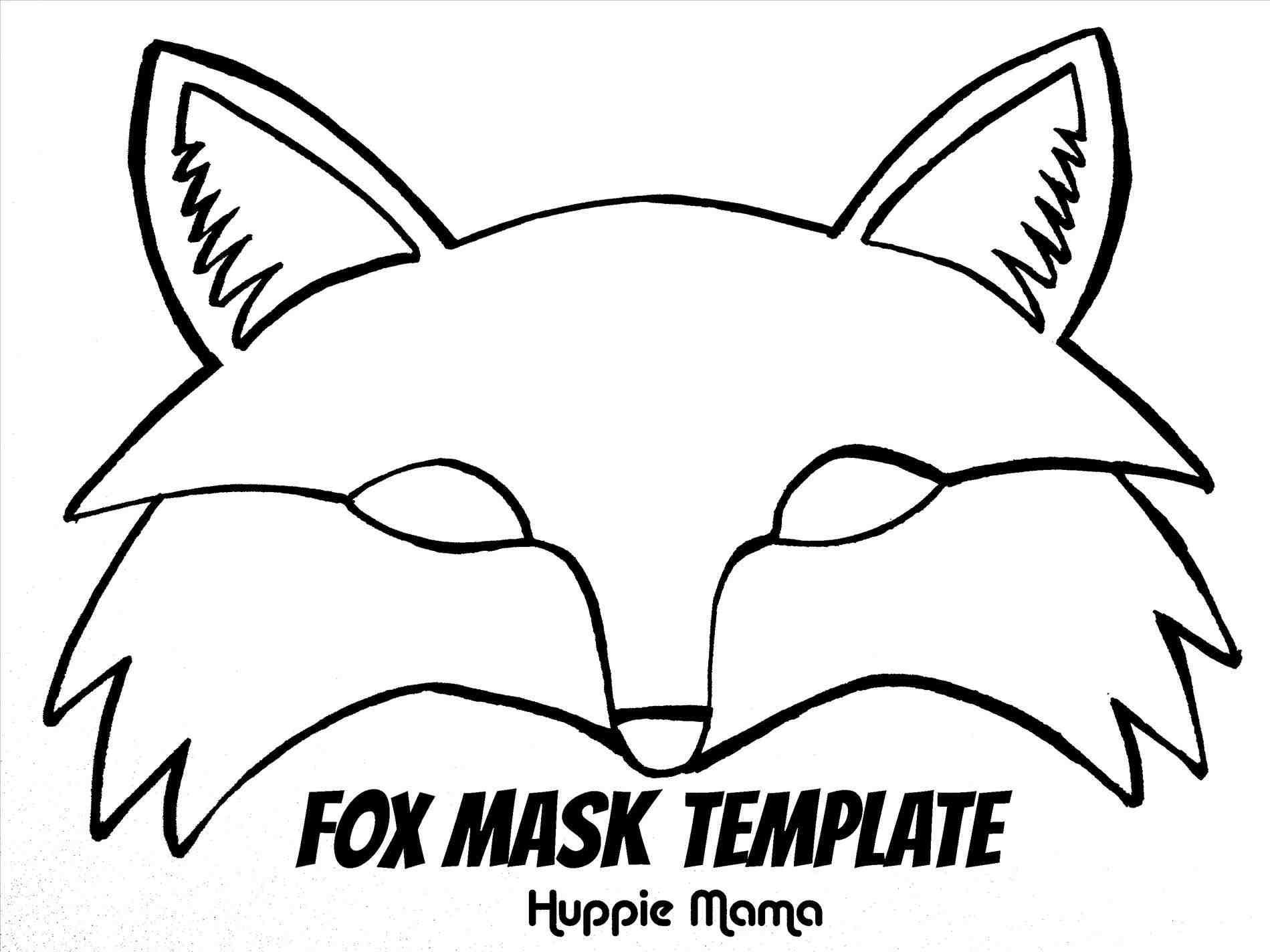 Pinbarbara Sinka On Kids | Pinterest | Animal Mask Templates - Free Printable Fox Mask Template