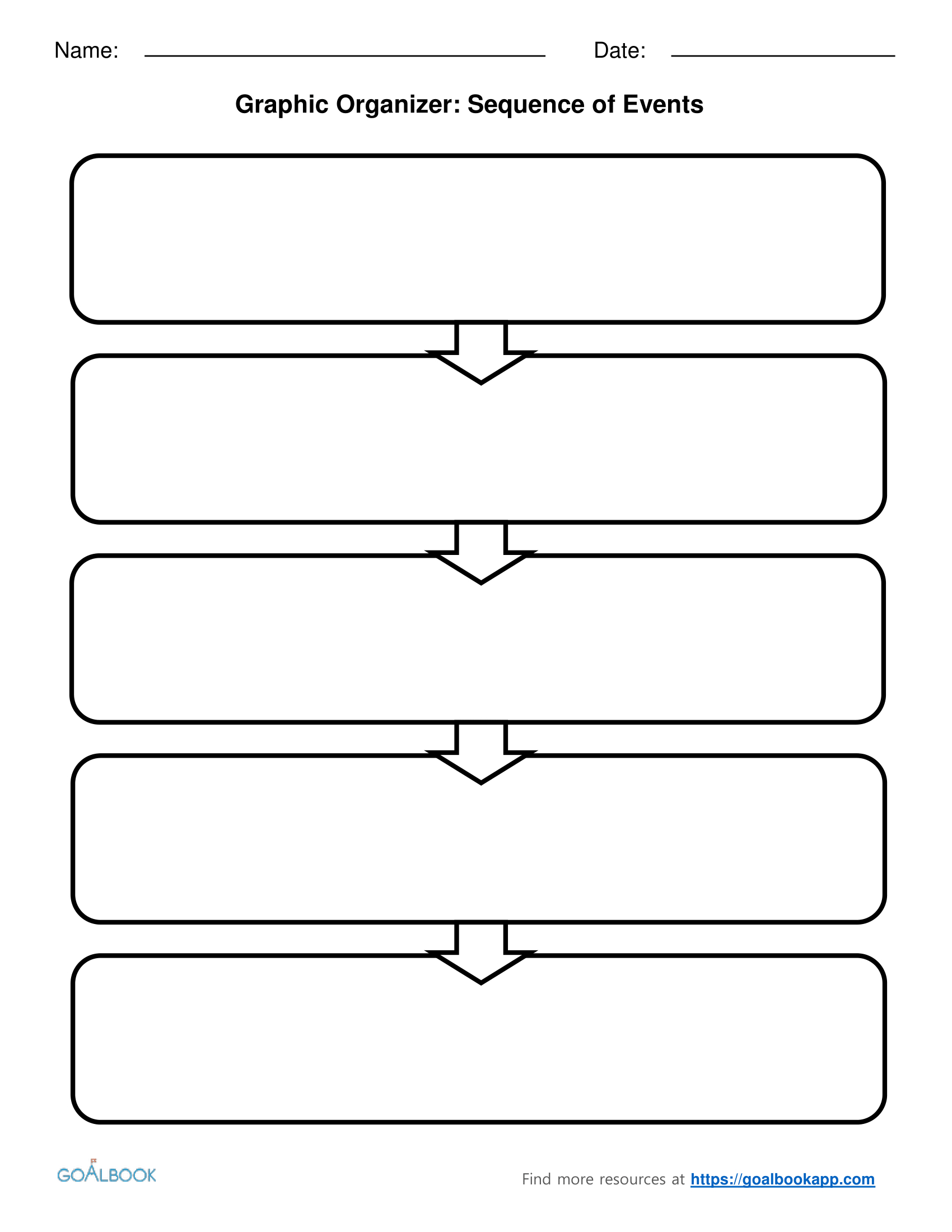 Pinbarbara Warren On Beginning Of The Year | Math Graphic - Free Printable Sequence Of Events Graphic Organizer