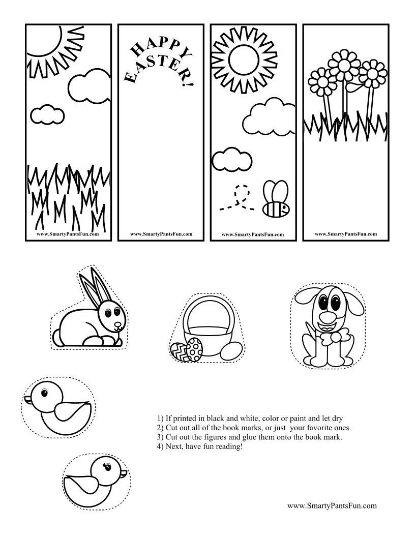 Pincassandra Koontz On Kid's Crafts   Pinterest   Bookmarks Kids - Free Printable Crafts For Preschoolers