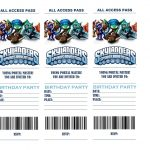 Pincrafty Annabelle On Skylanders Printables | Pinterest   Free Printable Skylander Invitations