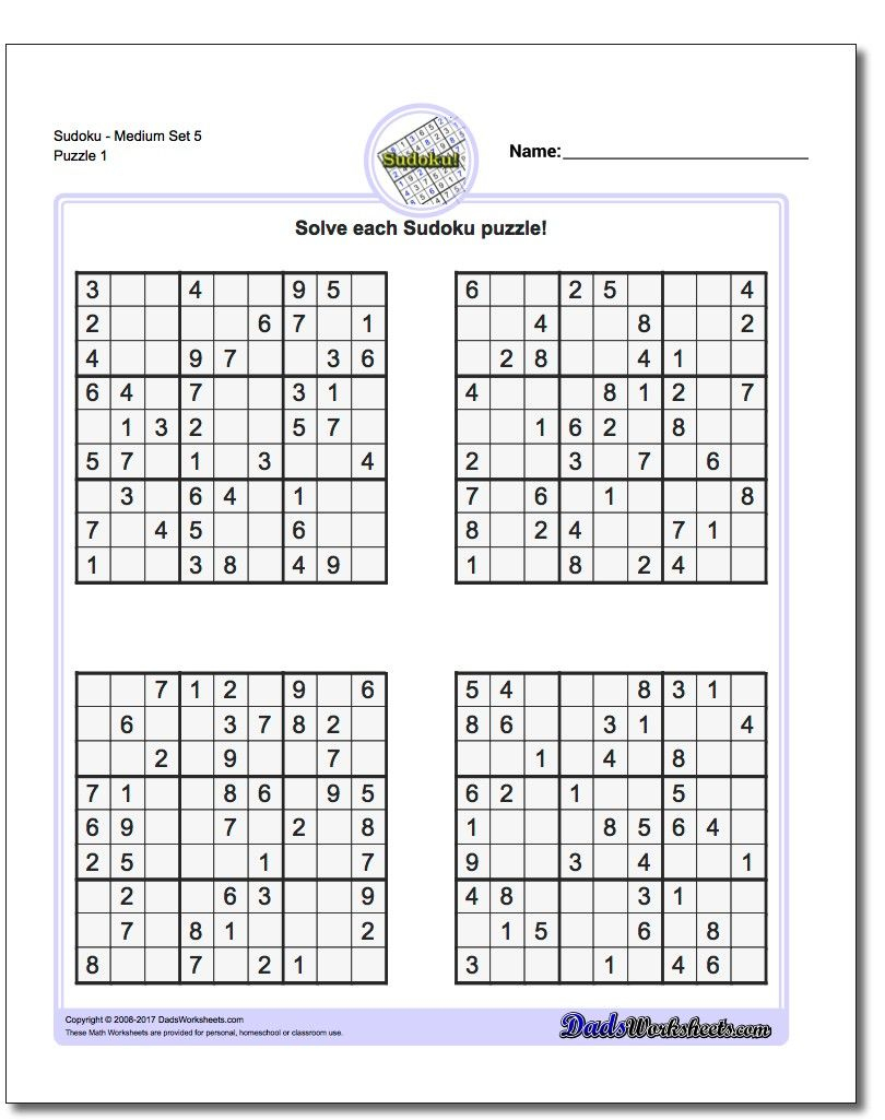 Pindadsworksheets On Math Worksheets | Math Puzzles Brain - Free Printable Super Challenger Sudoku