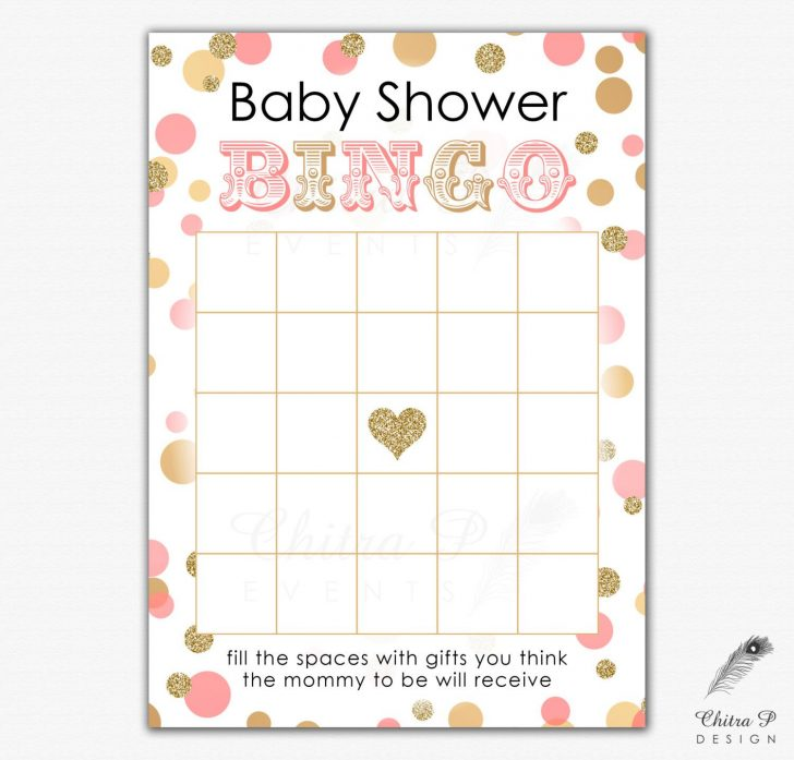 Free Printable Baby Shower Bingo Cards Pdf