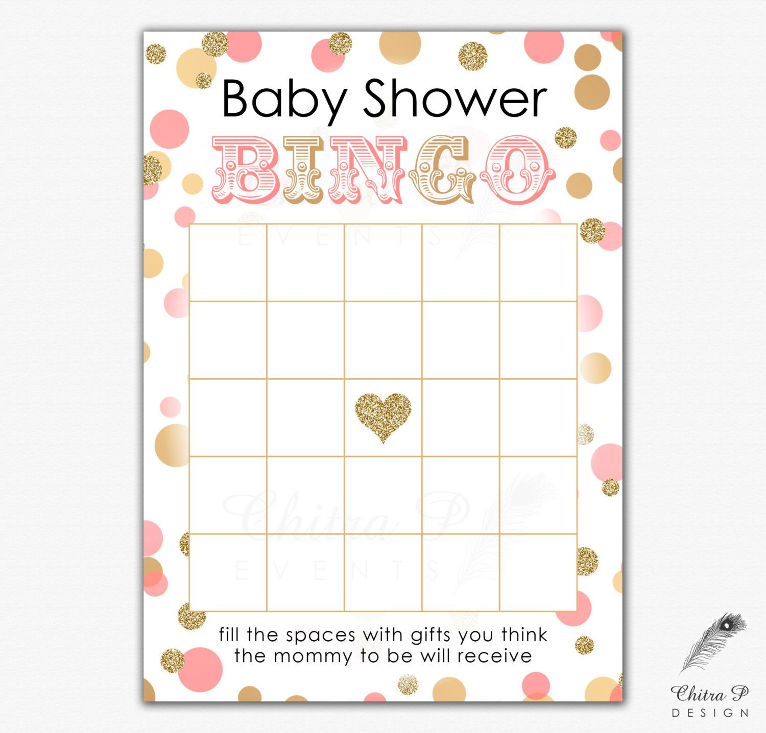 Pinedln On Baby Naz | Baby Shower Bingo, Gold Baby Showers, Baby - Free Printable Baby Shower Bingo Cards Pdf