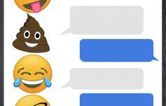 Pinjf And Company On Jorja's 8Th B-Day | Birthday Invitations - Emoji Invitations Printable Free