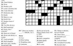 Pinjim Fraunberger On Crossword Puzzles | Pinterest | Printable - Free Printable Sunday Crossword Puzzles