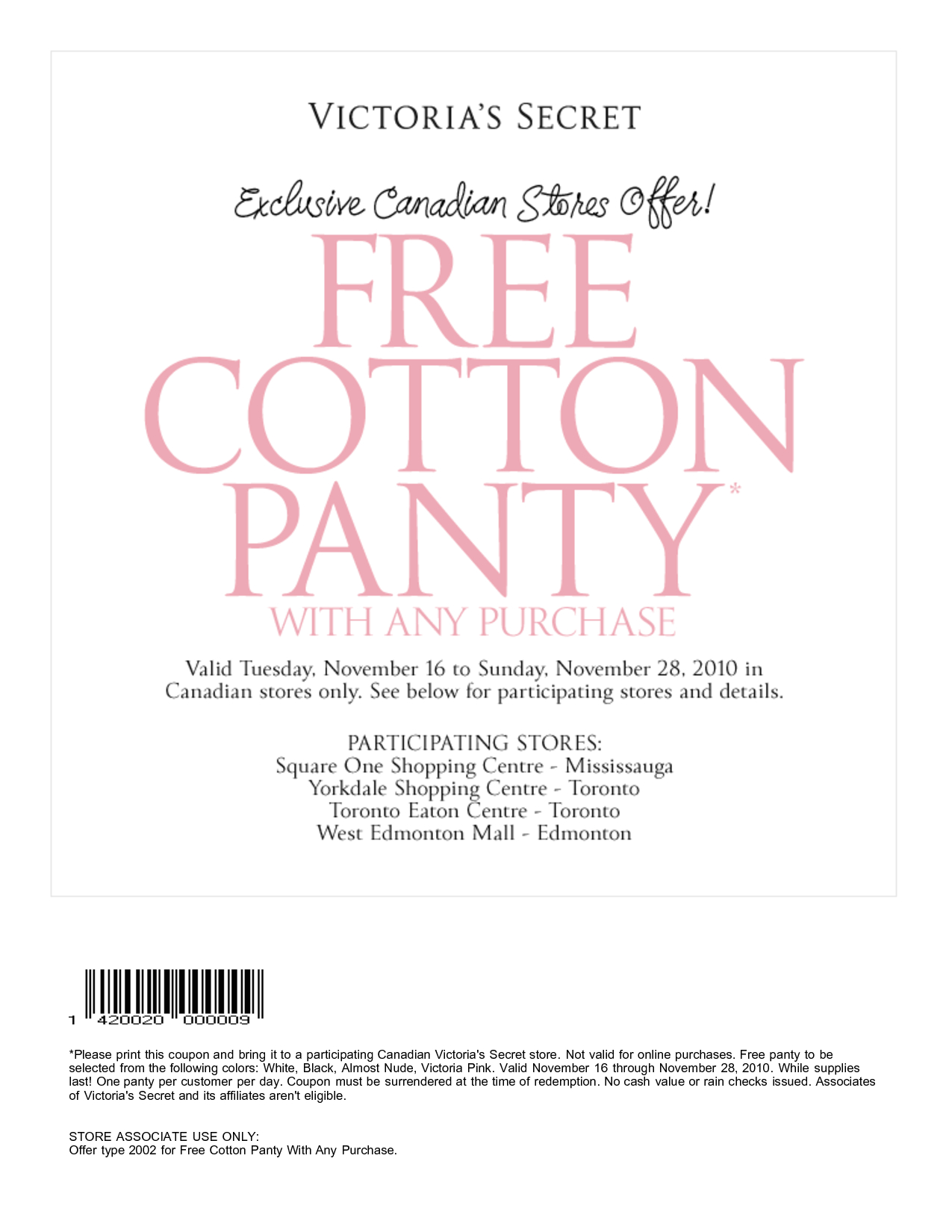 "Pink Nation Is Mostly Devoted To The Victoria's Secret ""Pink"" Line - Free Printable Coupons Victoria Secret"