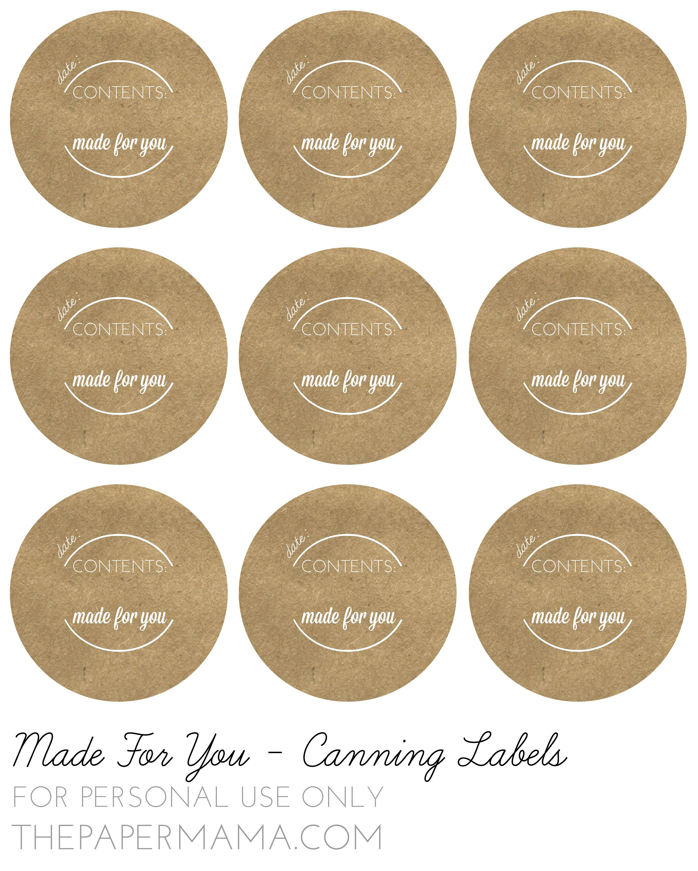 Pinlisa Wirth On Printables | Pinterest | Canning Jar Labels - Free Printable Labels For Jars
