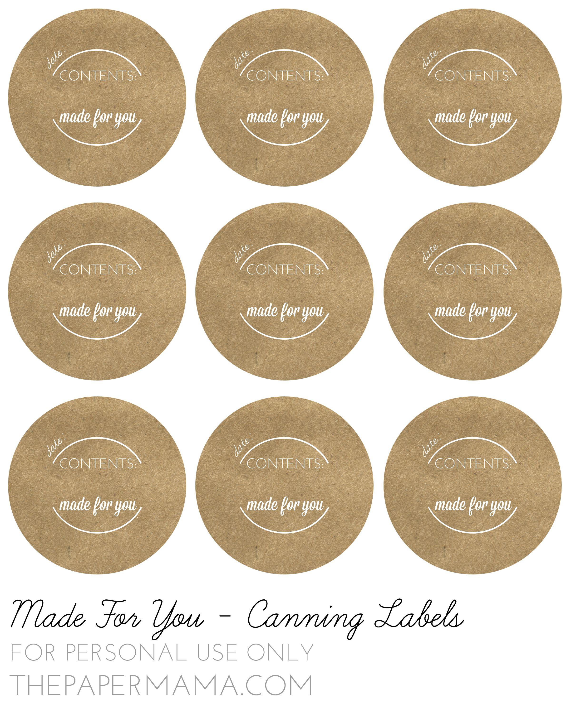 Pinlisa Wirth On Printables | Pinterest | Canning Jar Labels - Free Printable Mason Jar Labels