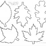 Pinlucie Davis On Skolka Worksheets | Leaf Template, Leaf   Free Printable Leaf Template