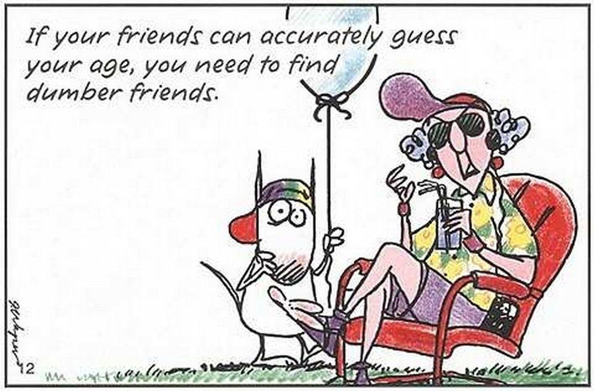 Pinpenny Leggett On Birthdays   Birthday Cartoon, Old Lady Humor - Free Printable Maxine Cartoons