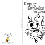 Pinreader Bee On Birthday Celebration   Bee Style | Pinterest   Free Printable Birthday Cards