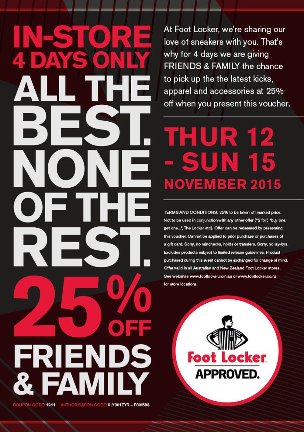 Pinsleekdeals.co.nz On Deals | Lockers, Foot Locker, Coupons - Free Printable Footlocker Coupons