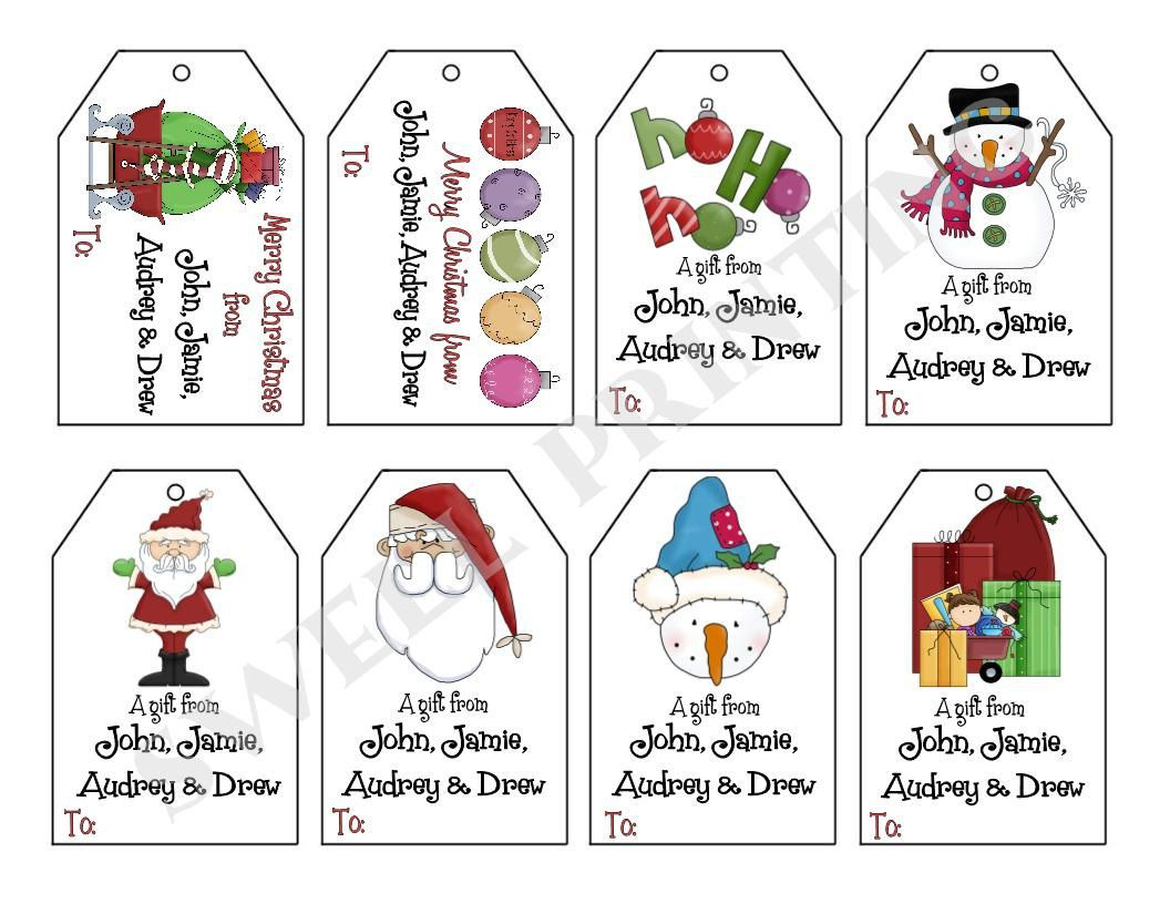 Pinsue Anne Shaw On Holidays | Pinterest | Gift Tags, Christmas - Free Printable Gift Tags Personalized