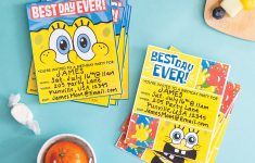 Plan A Spongebob Squarepants Party   Nickelodeon Parents - Spongebob Free Printable Invitations