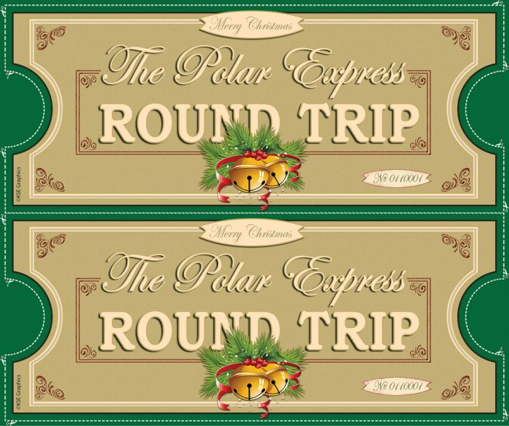 Free Polar Express Printable Tickets