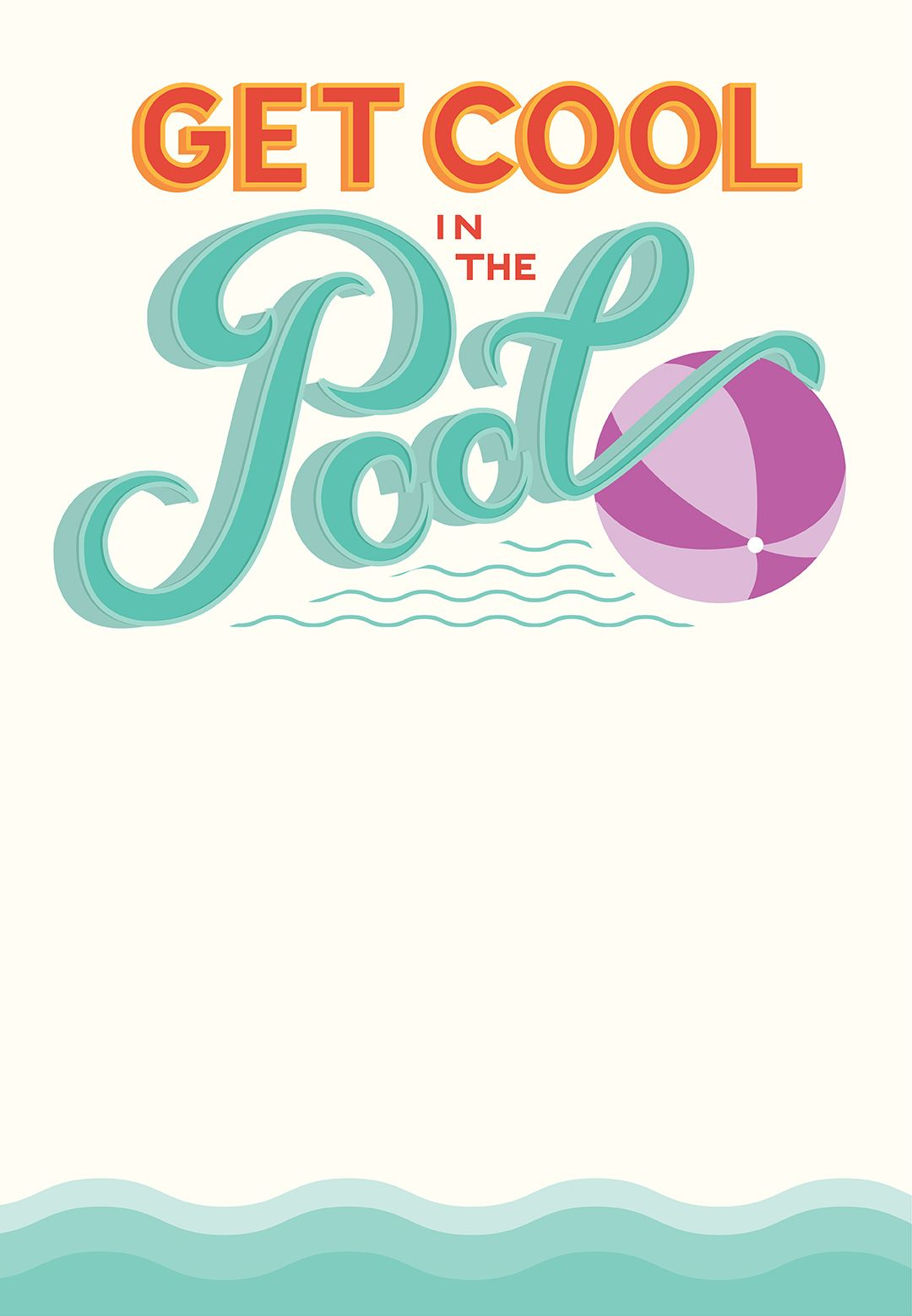 Pool Party - Free Printable Party Invitation Template   Greetings - Free Printable Water Park Birthday Invitations